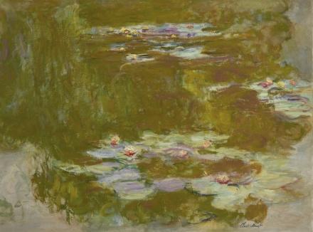 Claude Monet, Le Bassin aux nymphéas (circa 1917-1920), via Sotheby's