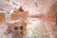 Yayoi Kusama Infinity Room, via Art News