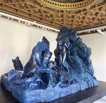 Damien Hirst, Treasures from the Wreck of the Unbelievable (Installation View), via Art Observed