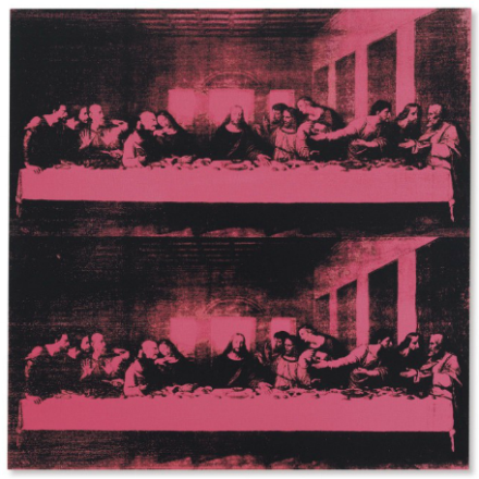 Andy Warhol, Last Supper (1986), via Christie's