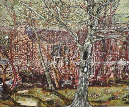 Peter Doig, Rosedale (1991), via Art Phillips