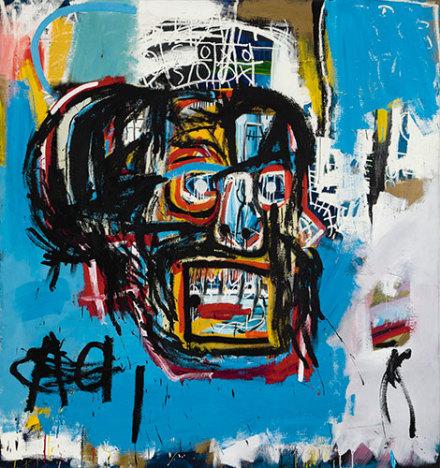 Jean-Michel Basquiat, Untitled (1982), via Sotheby's