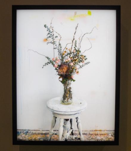 Rodney Graham, Dead Flowers in My Studio 2 (2017), via Art Observed