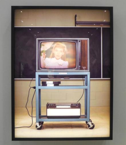 Rodney Graham, Media Studies 77 (Meet Me in St Louis) (2017), via Art Observed