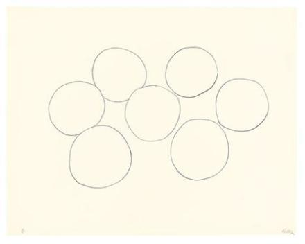 Ellsworth Kelly, Seven Oranges (1966), via Matthew Marks