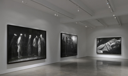 Robert Longo, The Destroyer Cycle (Installation View), via Art Observed