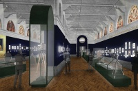 Rendering for Victoria and Albert Museum, via Art Newspaper