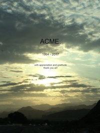 Acme Gallery Closing Announcement, via Art News