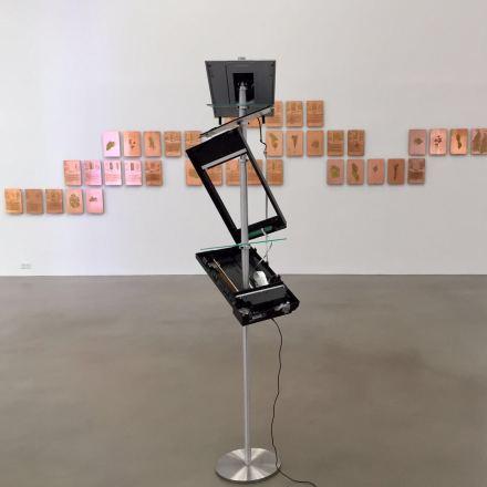 Walead Beshty, Open Source (Installation View), via Art Observed