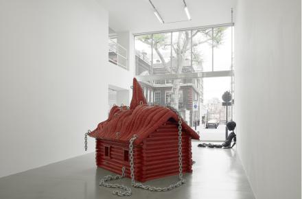 Jordan Wolfson, (Installation View, Davies Street)