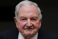 David Rockefeller, via Getty Images