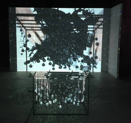 Joan Jonas, What is Found in the Windowless House is True (Installation View), via Art Observed