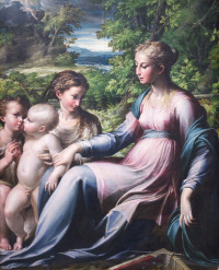 Parmigianino, via Art Newspaper