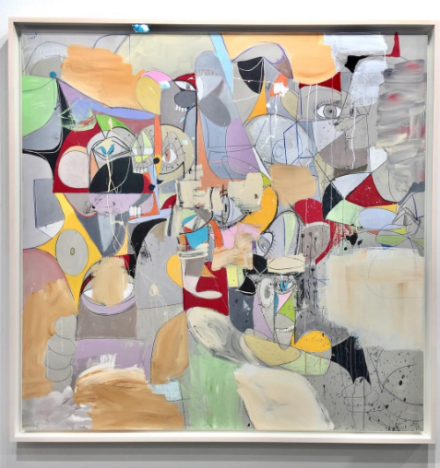 George Condo, Found Spaces (2017), via Sprüth Magers