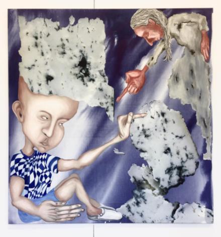 Anne Speier at Silberkuppe, via Art Observed