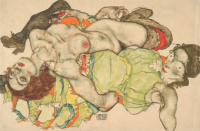 Schiele, via The Guardian