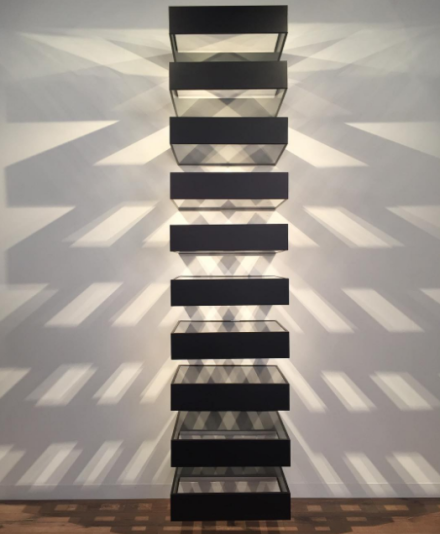 Donald Judd, Untitled (Bernstein 90-11) (1990), via Art Observed