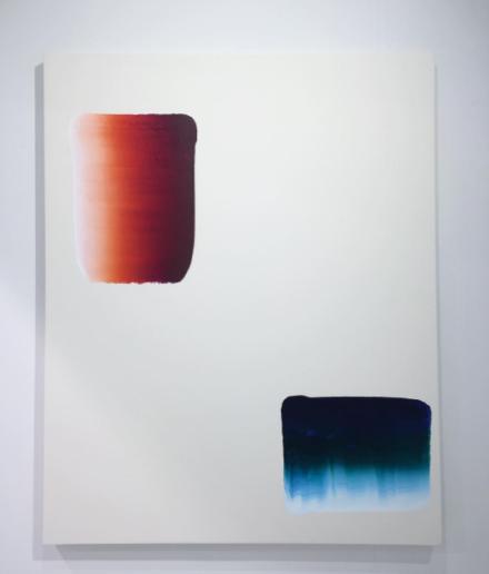 Lee Ufan, Dialogue (2017), via Art Observed