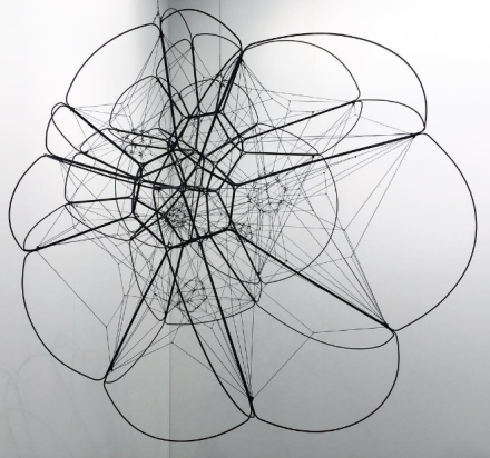 Tomas Saraceno at Tanya Bonakdar, via Art Observed