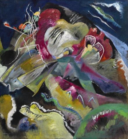 Wassily Kandinsky, Bild mit weissen Linien (1913), via Sotheby's