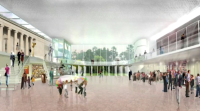 Albright Knox Expansion, via WIVB