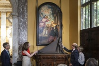 Tintoretto altarpiece, via Art Newspaper