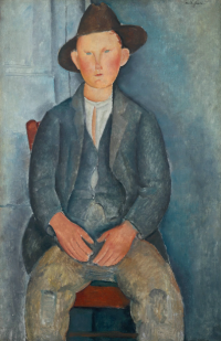 Modigliani, The Little Peasant, via Guardian