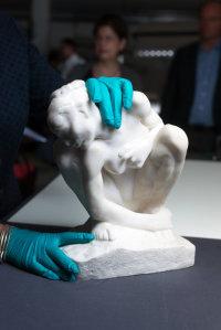Rodin piece from Gurlitt Trove, via NYT
