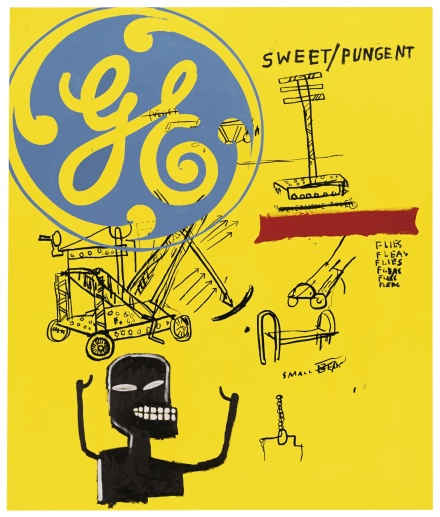Andy Warhol and Jean-Michel Basquiat, Sweet Pungent (1984-85), final price £4,433,750 via Sothebys