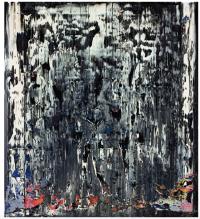 Gerhard Richter, Split (Rubble) (1989) final price£3,983,750 via Sothebys