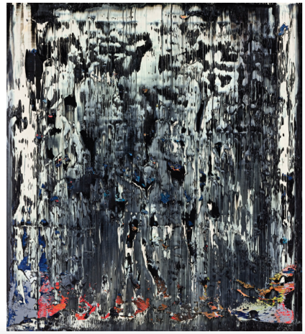 Gerhard Richter, Split (Rubble) (1989) final price£3,983,750 via Sothebys