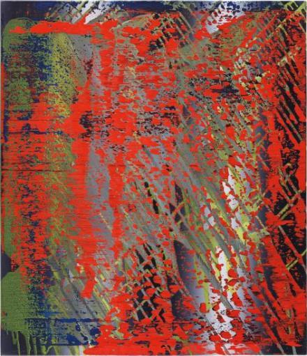 Gerhard Richter, Abstraktes Bild (682-4) (1988) final price £2,389,000, via Phillips