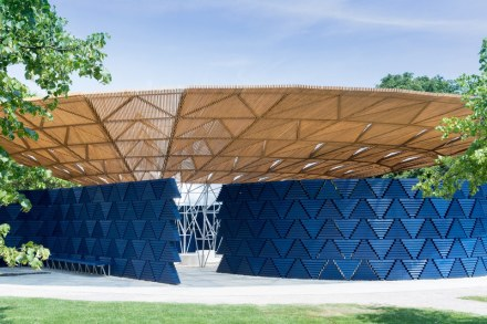 Serpentine Pavilion, via Iwan Baan for Serpentine Galleries