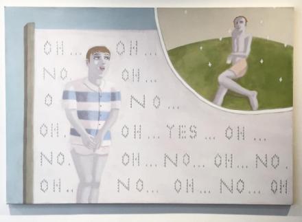 Satoshi Kojima, Ono (2014), via Art Observed