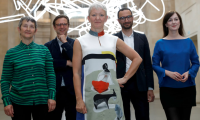 Maria Balshaw with her team of Tate directors, via The Guardian