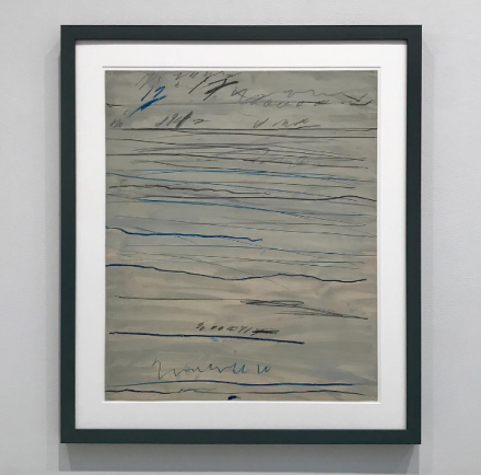 Cy Twombly, Untitled (Rammifications) (1971), via Sarah Cohen for Art Observed