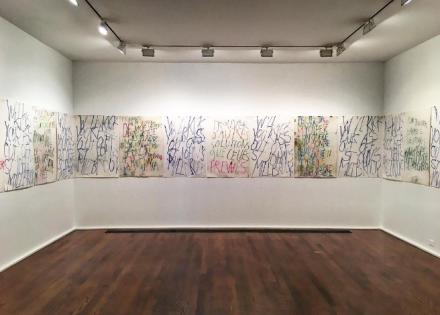 Philippe Vandenberg, (Installation View), via Art Observed