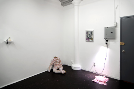 Deborah Schamnoni at Queer Thoughts (Installation View), via Queer Thoughts