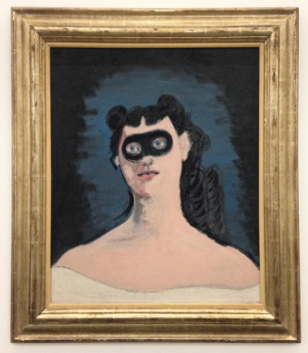 John Graham, Mascara (1950), via Art Observed