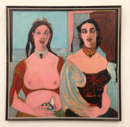 John Graham, Two Sisters (1944), via Osman Can Yerebakan for Art Observed