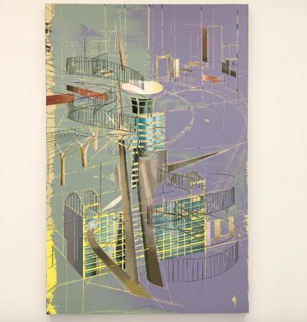 Cui Jie, Friendship Building #2 (2017), via Art Observed