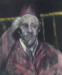 Francis Bacon, Head with Raised Arm, via Christie's