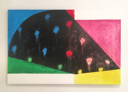 Mary Heilmann, Rio Nido (1987), via Art Observed