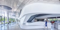 Michael Riedel at Cornell Tech, via NYT