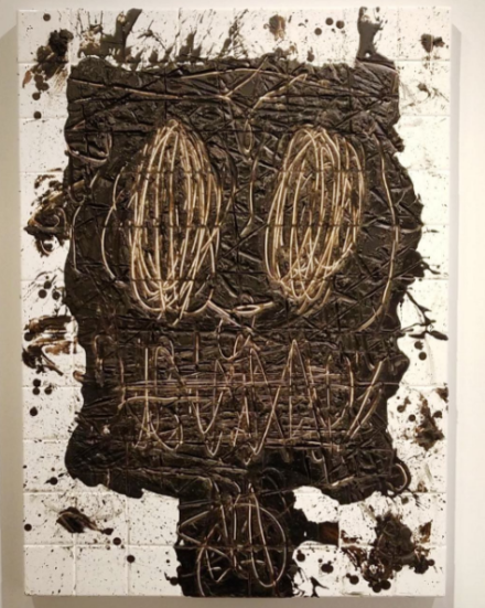 Rashid Johnson at Richard Gray, via Art Observed