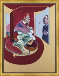 Francis Bacon pope painting, via BBC