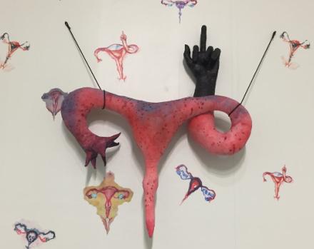 Annette Messager at Marian Goodman, via Art Observed
