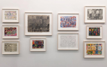 Stanley Whitney, Drawings (Installation View), via Art Observed.