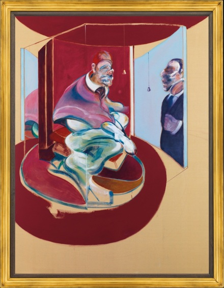 Francis Bacon, Study of Red Pope 1962. 2nd Version (1971), via Christie's