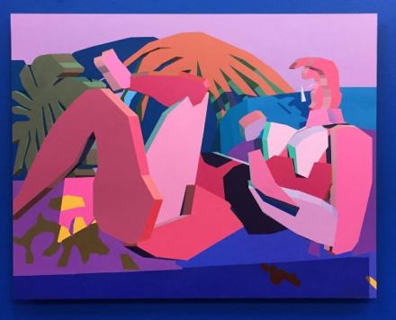 Jonathan Chapline at Victori+Mo, via Art Observed